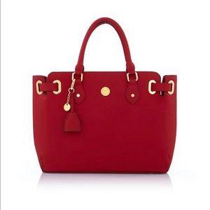 Joy Mangano Christie Saffiano Leather Handbag 👜